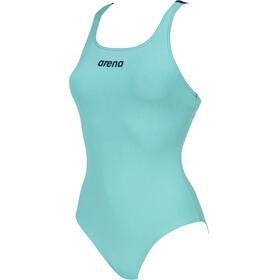arena Solid Swim Pro Costume da bagno intero Donna, verde